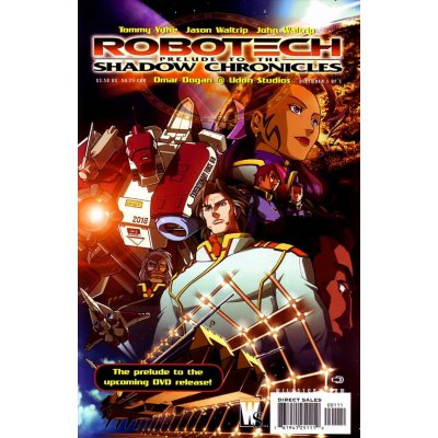 Комикс Robotech: Prelude to the Shadow Chronicles #1
