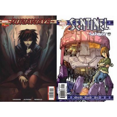 Комикс Runaways #1/Sentinel #1 Doble-sized