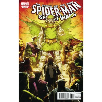 Комикс Spider-Man & The Secret Wars #4