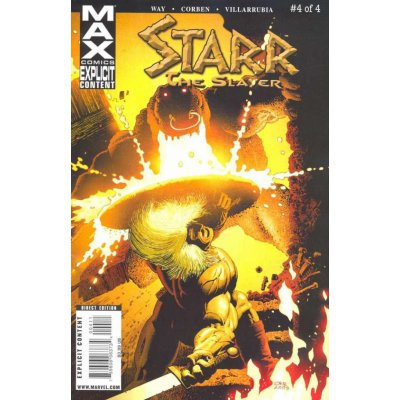 Комикс Starr the Slayer #4