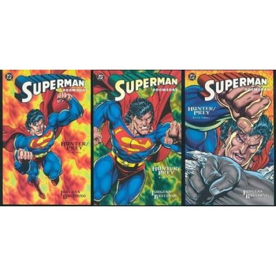 Комикс Superman / Doomsday: Hunter / Prey. Book 1-3