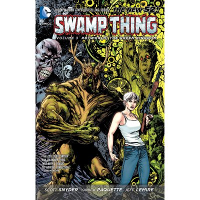 Комикс Swamp Thing Vol. 3: Rotworld: The Green Kingdom (The New 52)