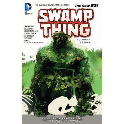 Комикс Swamp Thing: Seeder (Volume 4)
