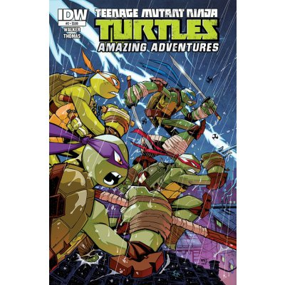 Комикс Teenage Mutant Ninja Turtles: Amazing Adventures #2