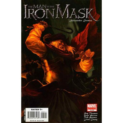 Комикс The Iron Man in the Iron Mask #5 (of 6)