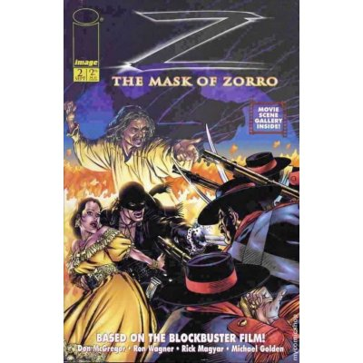 Комикс The Mask of Zorro #2