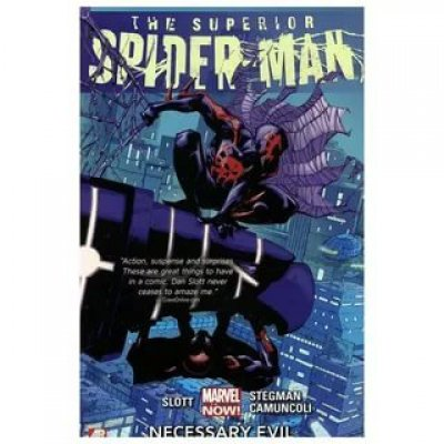 Комикс The Superior Spider-Man. Vol. 4: Necessary Evil