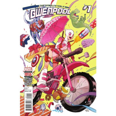 Комикс The Unbelievable Gwenpool #1