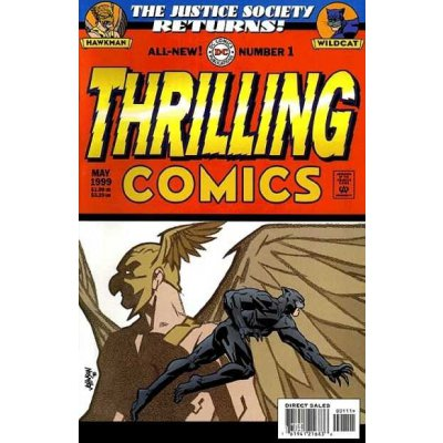 Комикс Thrilling Comics #1