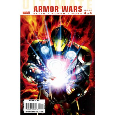 Комикс Ultimate Comics Armor Wars #4