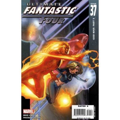 Комикс Ultimate Fantastic Four #37
