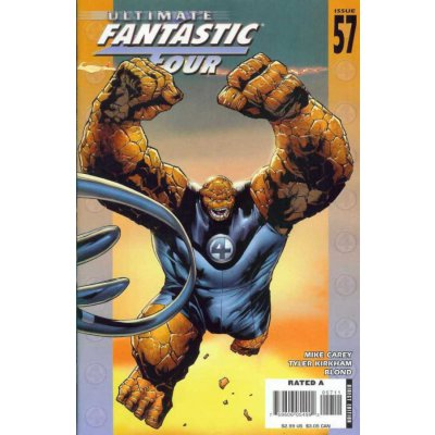 Комикс Ultimate Fantastic Four #57