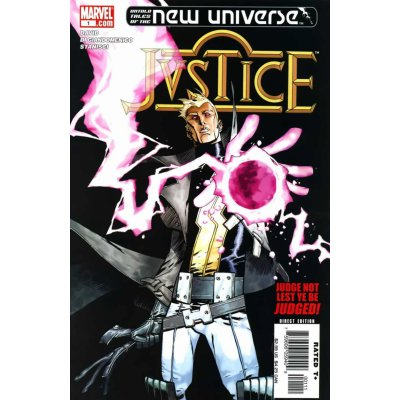 Комикс Untold Tales of the New Universe: Justice #1