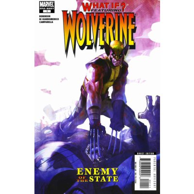 Комикс What if? Wolverine: Enemy of the State #1