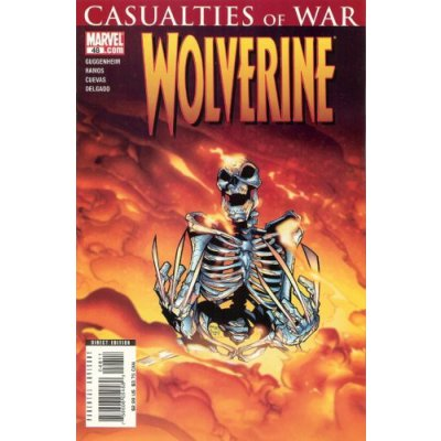 Комикс Wolverine #48 (Casualties Of War)