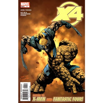 Комикс X-Men/Fantastic Four #4