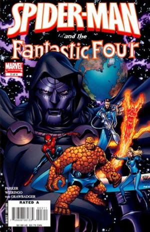Комикс Spider-Man and the Fantastic Four #3