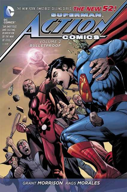 Комикс Superman Action Comics Vol. 2 Bulletproof