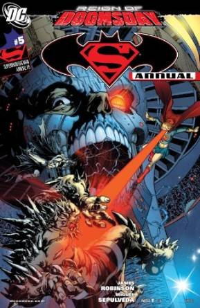 Комикс Superman/Batman Annual #5