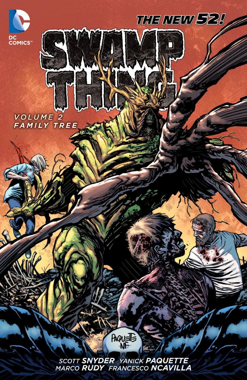 Комикс Swamp Thing Vol. 2: Family Tree
