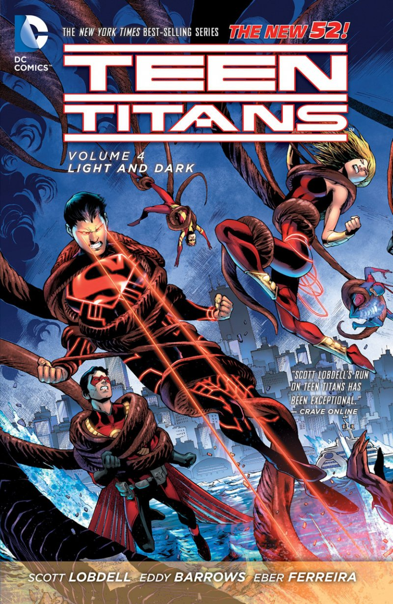 Комикс Teen Titans. Volume 4: Light and Dark