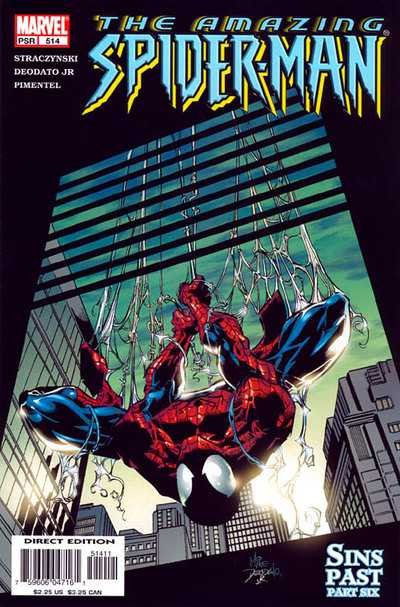 Комикс The Amazing Spider-Man #514
