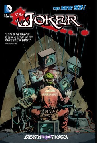 Комикс The Joker: Death of the Family HC (The New 52)