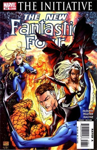 Комикс The New Fantastic Four #549 (The Initiative)