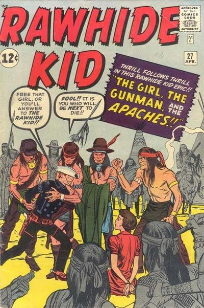 Комикс The Rawhide Kid #27 (1962 г.)