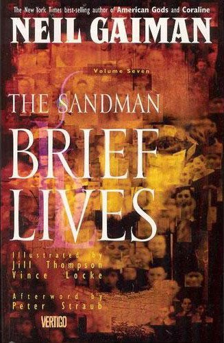 Комикс The Sandman Vol. 7: Brief Lives 1994 г.