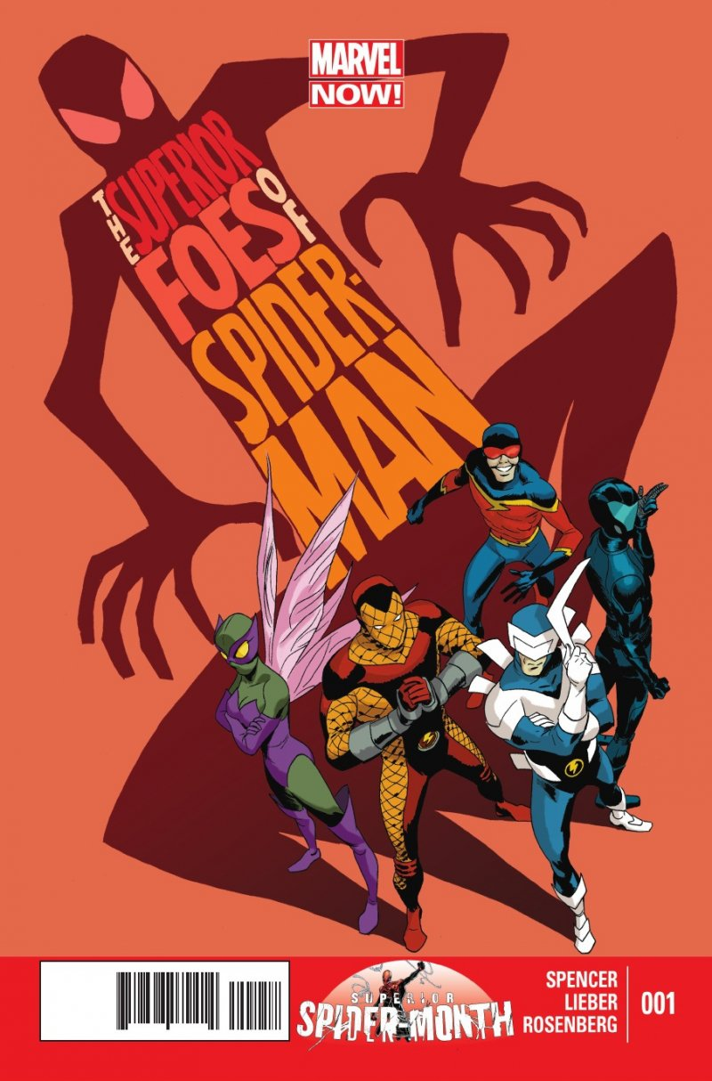 Комикс The Superior Foes Of Spider-Man: Getting The Band Back Together