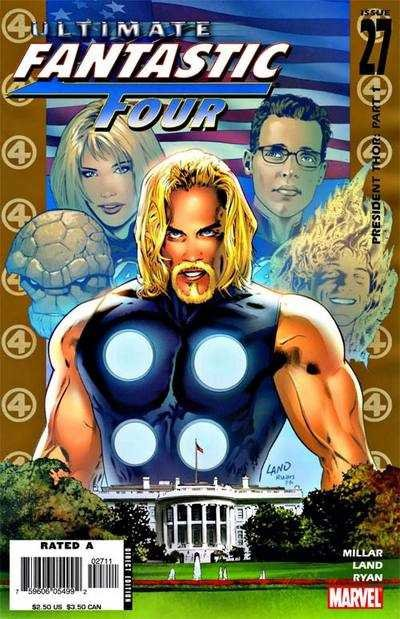 Комикс Ultimate Fantastic Four #27