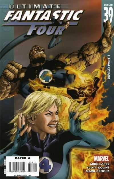 Комикс Ultimate Fantastic Four #39