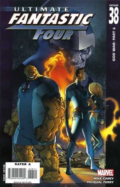 Комикс Ultimate Fantastic Four #38
