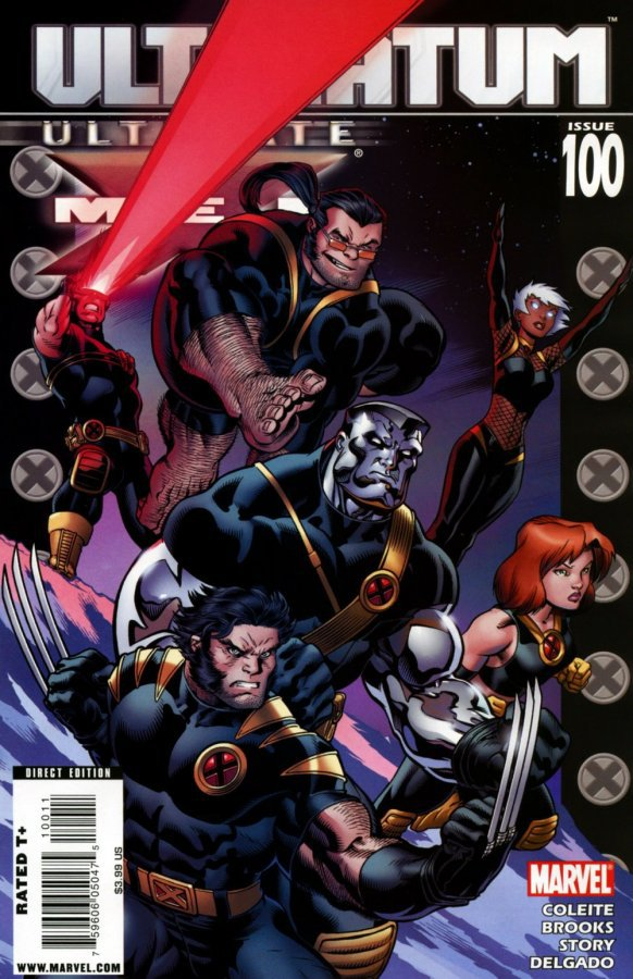 Комикс Ultimate X-Men #100