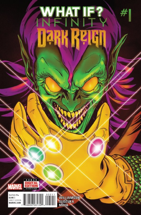 Комикс What If? Infinity - Dark Reign Vol.1 #1