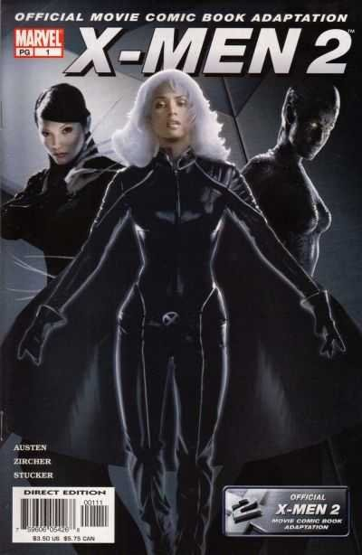 Комикс X-Men 2: The Movie - Official Comic Book Adaptation